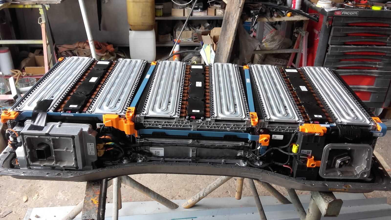 Bateria Desmontada Coche Electrico