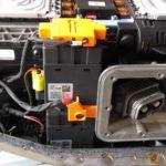 Detalle Conector Baterias Coche Electrico