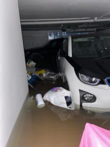 Bmw I3 Inundado