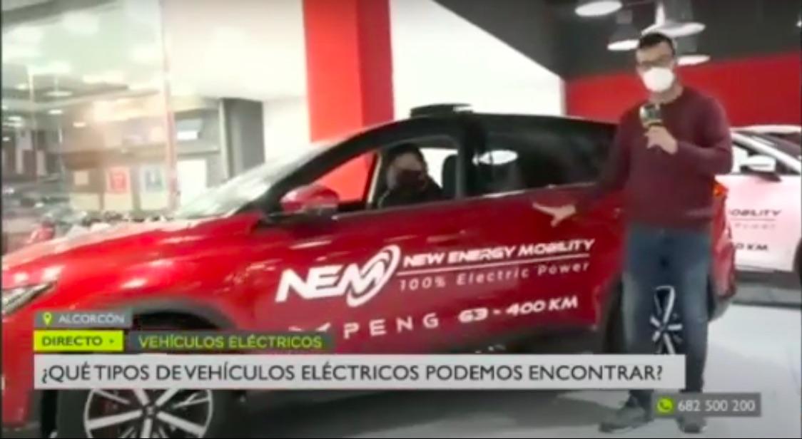 Jorge XPeng G3 NEM Motors Alcorcon